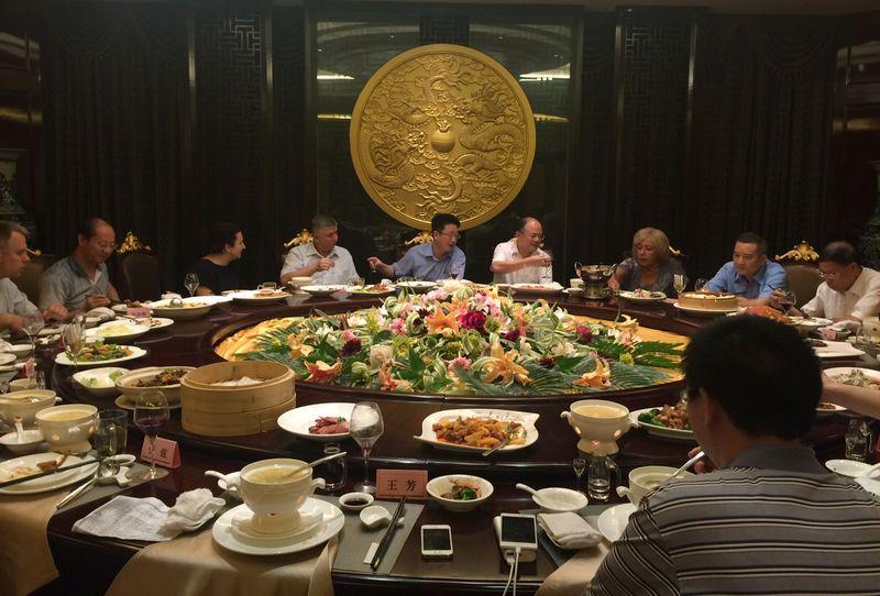 Переговоры с китайскими партнерами